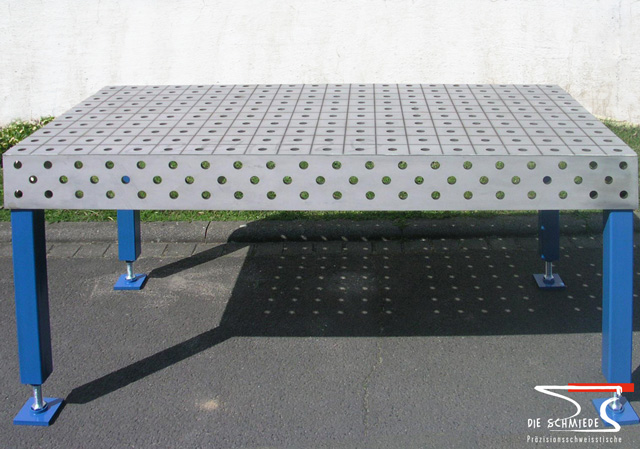 Stainless steel welding table 03