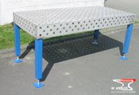 Stainless steel welding table 02